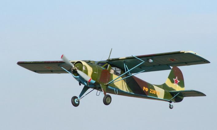 Як-12 в полете