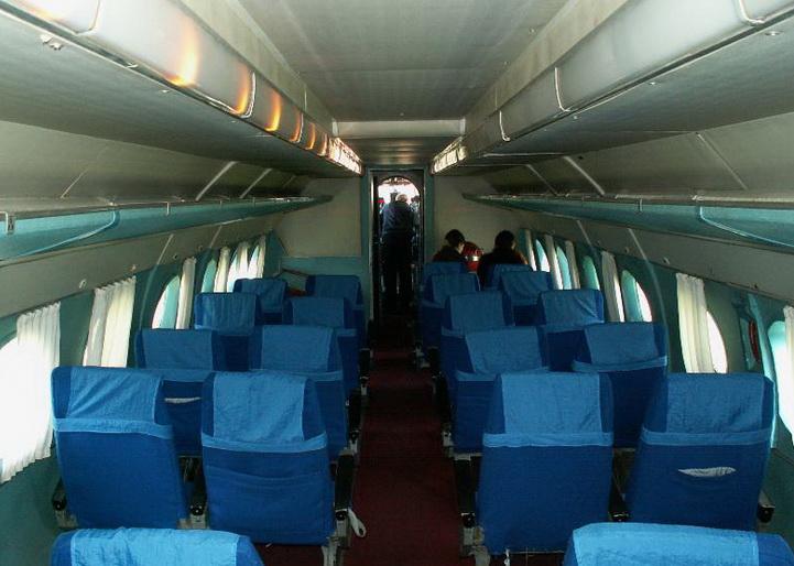 Пассажирский салон Ан-24