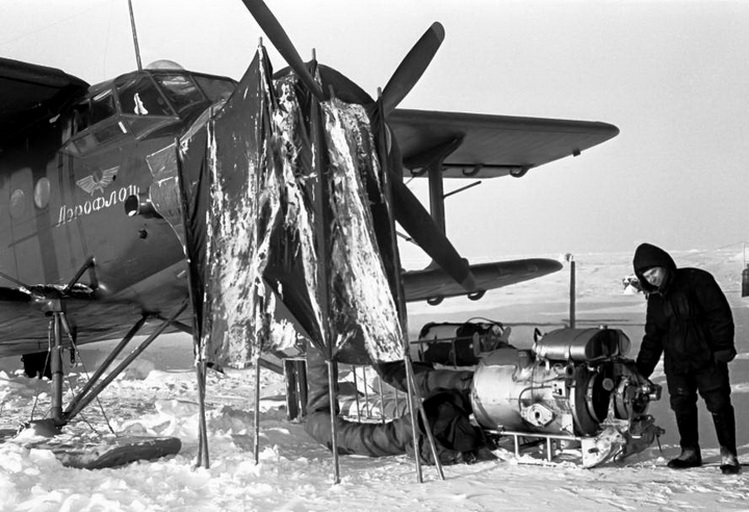 Подогрев двигателя на Ан-2