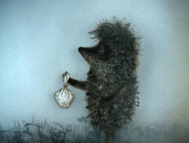 Ёжик в тумане (из одноименного мультфильма)