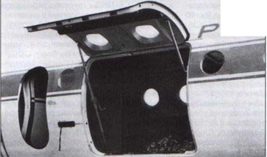 Открытый люк на Як-40К