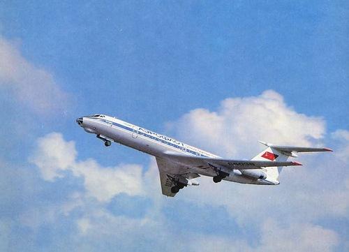 Взлет Ту-134А