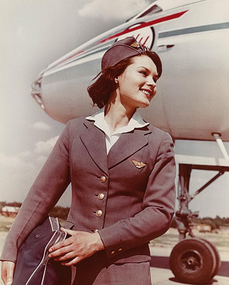 Стюардесса Аэрофлота, 60-е годы