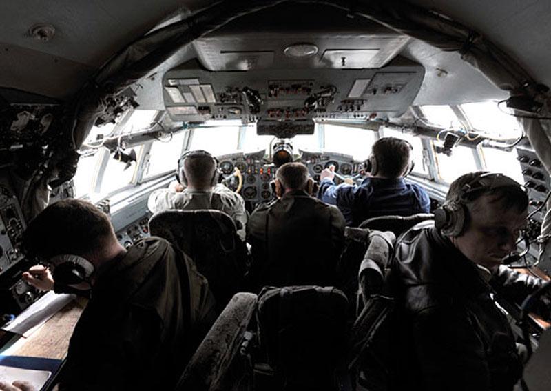 Экипаж в Ил-18