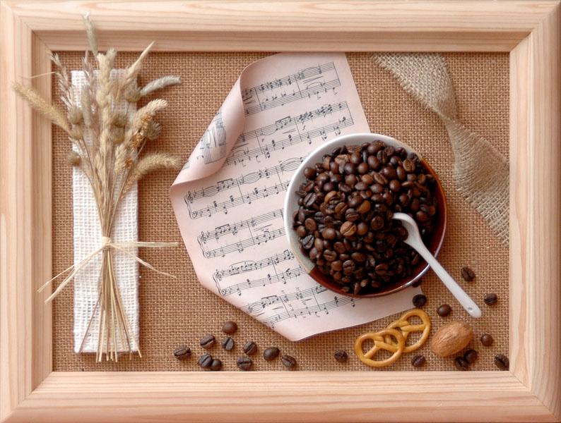 Мастер класс по рукоделию из кофейных зерен