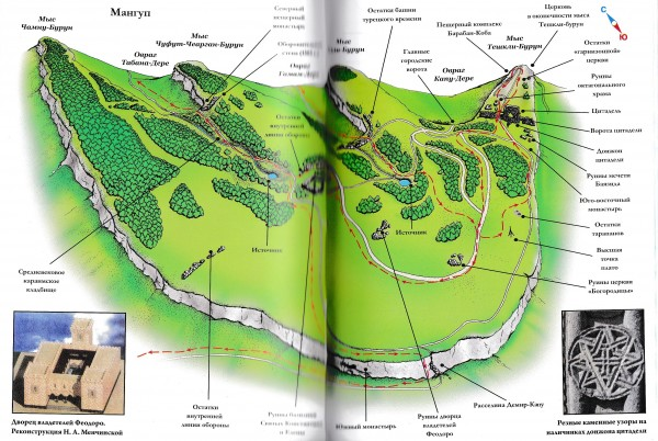 мангуп карта
