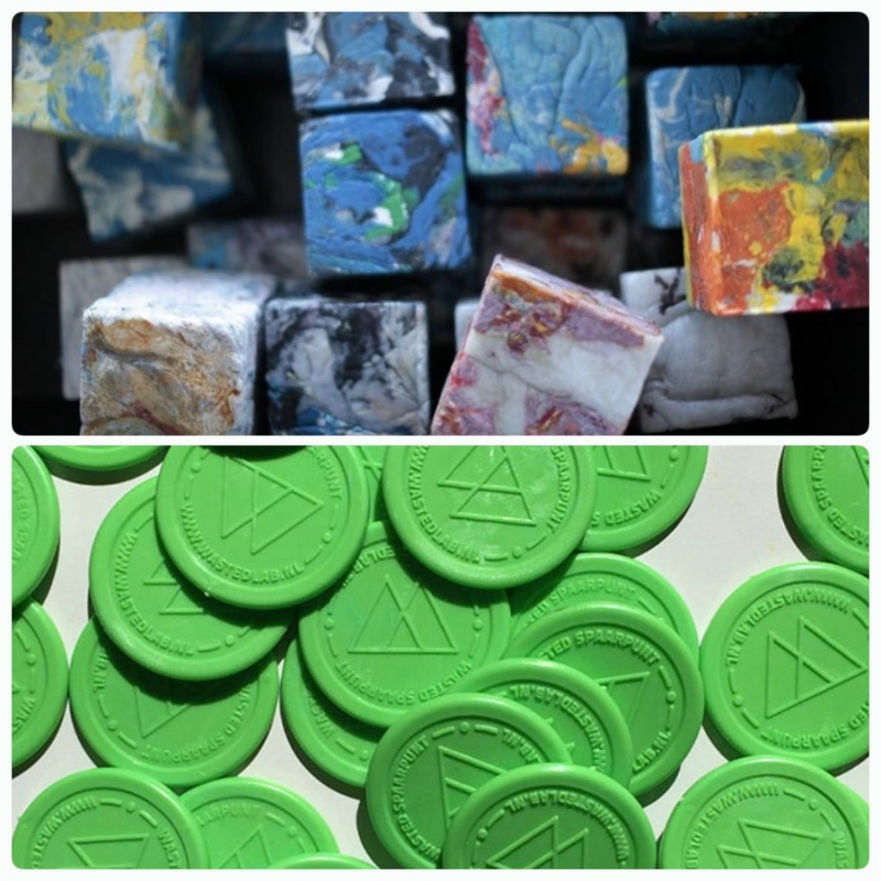 Жители Амстердама получают ECO coins за сданный пластик, их можно обменять на еду в магазине или ресторане.