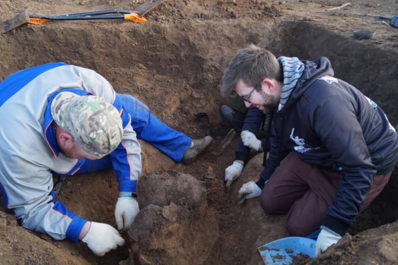 Русско-французская экспедиция проводит раскопки на полях Сталинградской битвы