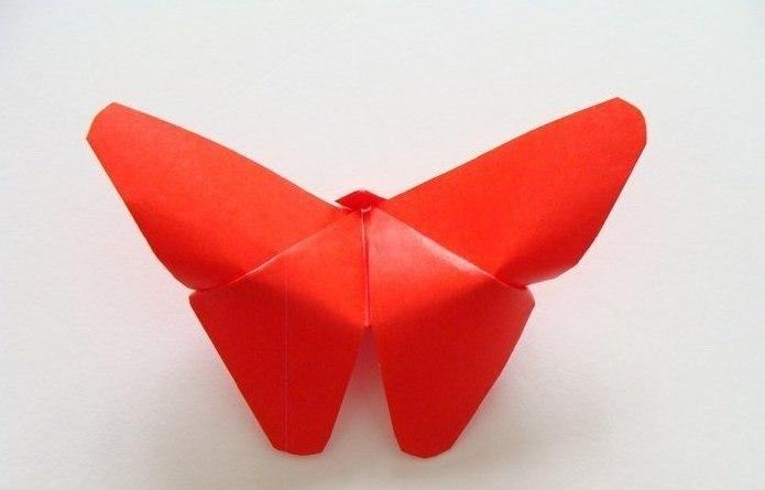 Бабочки в технике оригами