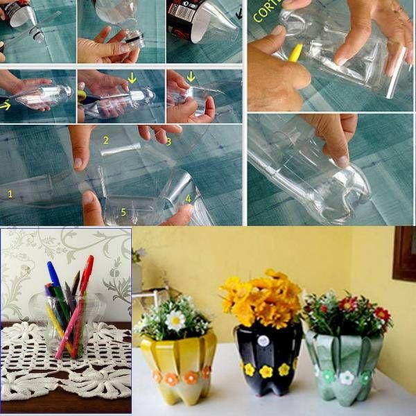 Как необычно использовать пластиковые бутылки2
