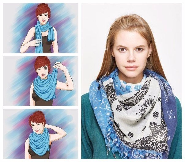 7 способов носить шарф этой осенью