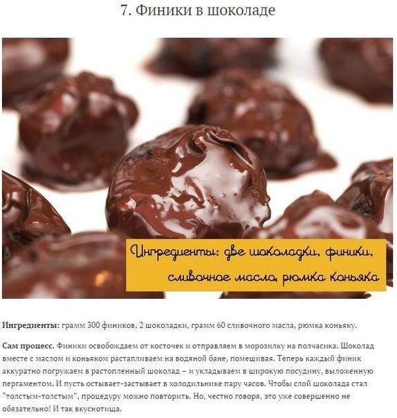 Лучшие рецепты домашних конфет7