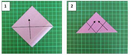 Красивый цветок в технике оригами. Мастер класс.2