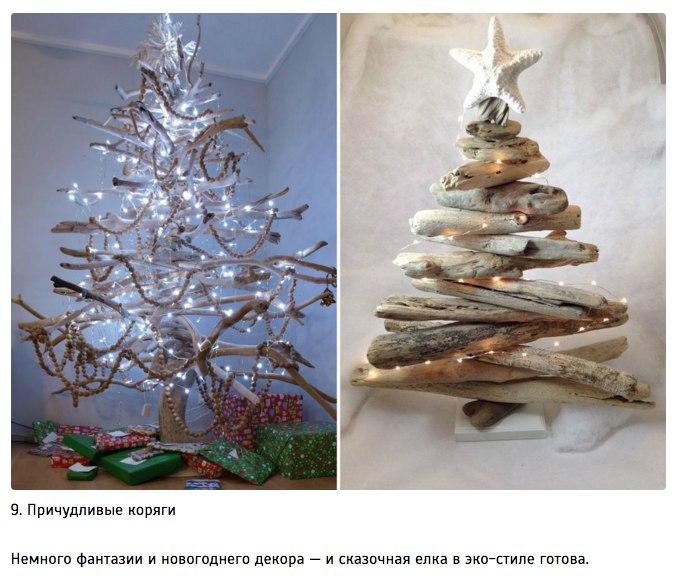 10 идей для творческой новогодней елки9