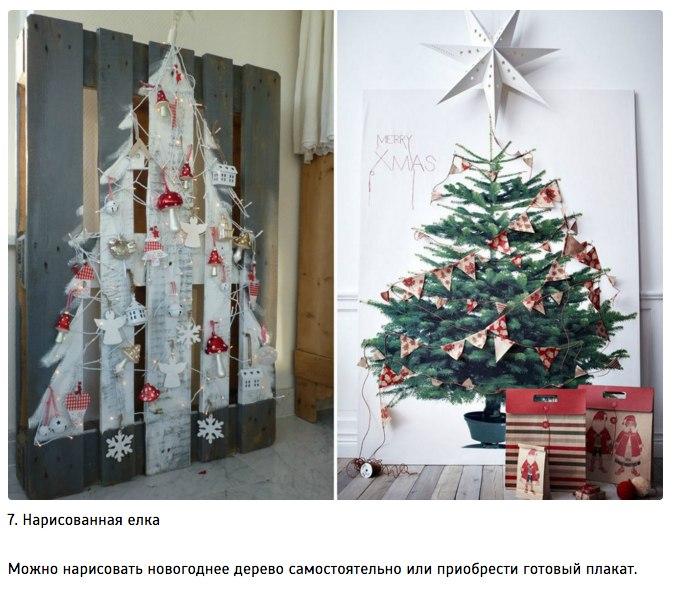 10 идей для творческой новогодней елки7
