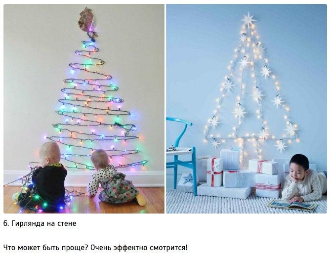 10 идей для творческой новогодней елки6