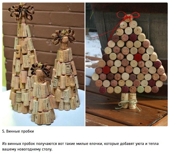 10 идей для творческой новогодней елки5