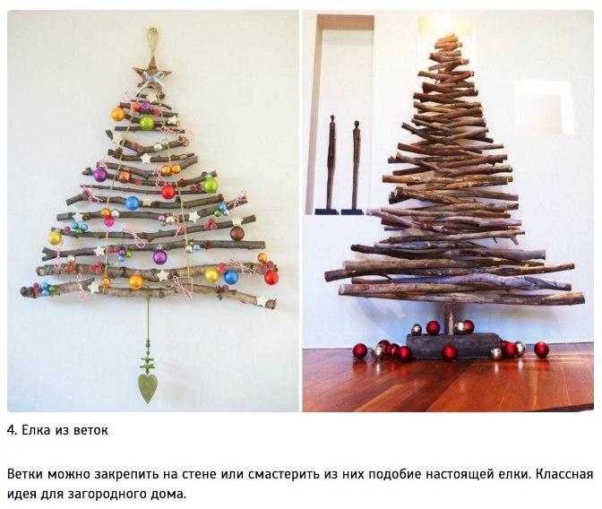 10 идей для творческой новогодней елки4