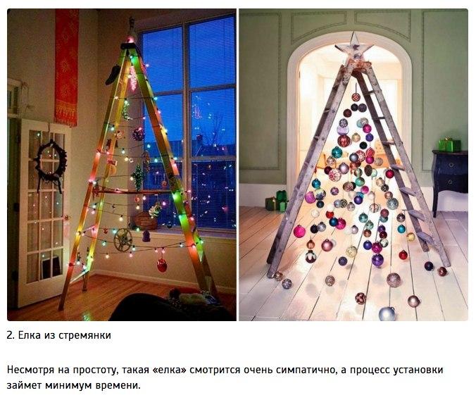 10 идей для творческой новогодней елки2