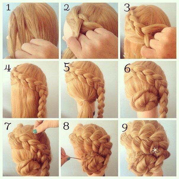 Идеи для стильной причёски