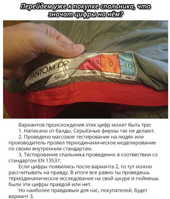 Про спальные мешки, что надо знать при покупке6