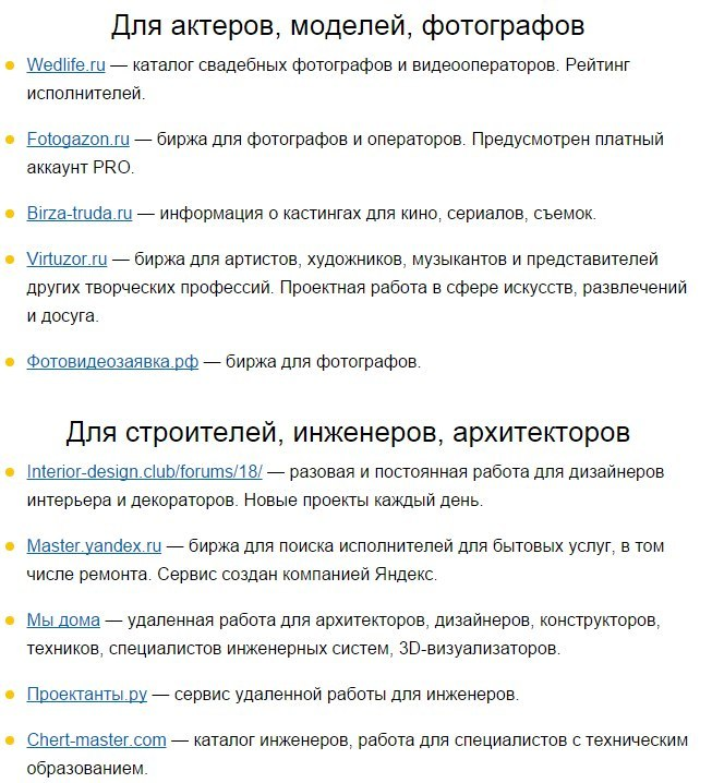 Полезные сайты для поиска удаленной работы5