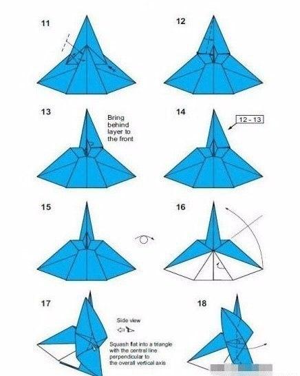 Ангел из бумаги в технике оригами3