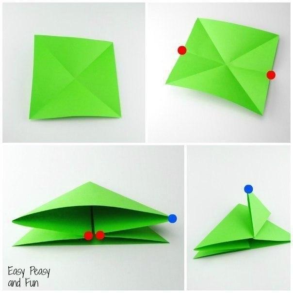 Лягушата из бумаги2