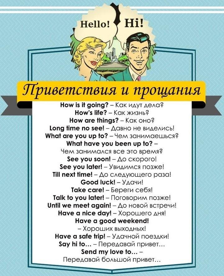 100 полезных фраз для разговорного английского