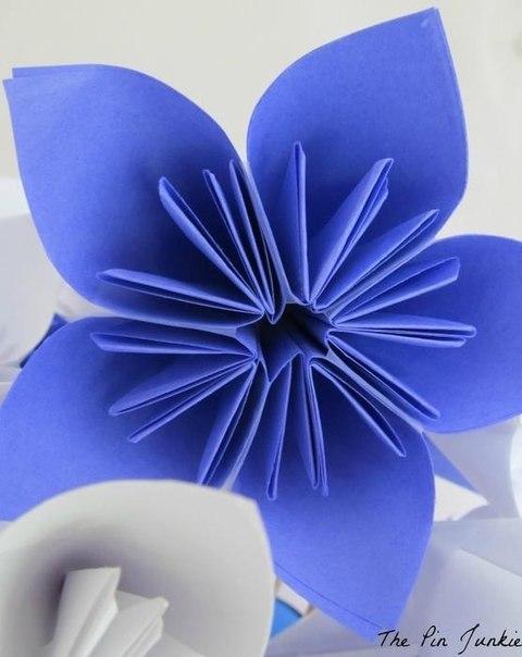 Цветы из бумаги10