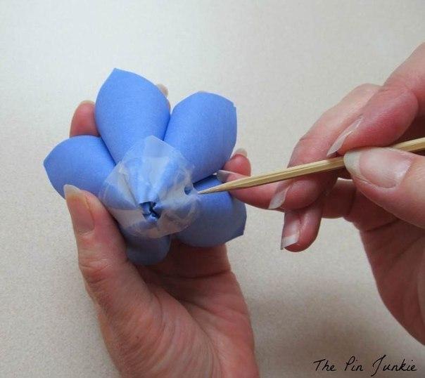 Цветы из бумаги9