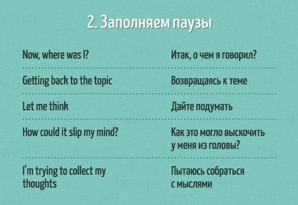 Полезные фразы на английском языке2