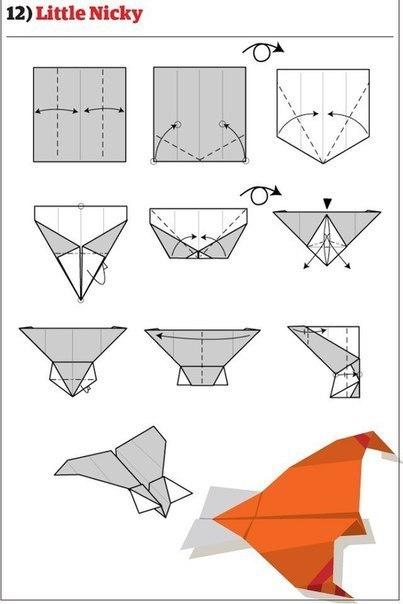 10 способов изготовления сверхбыстрых самолётиков10