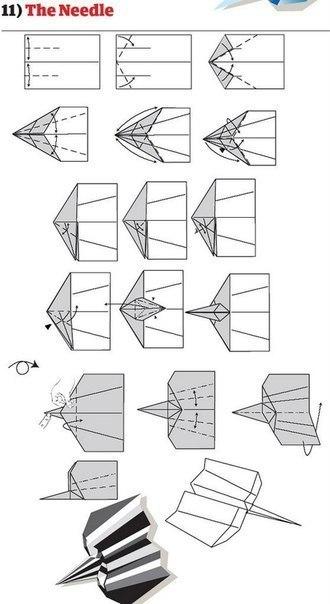 10 способов изготовления сверхбыстрых самолётиков9