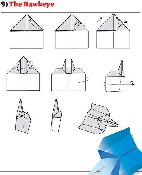 10 способов изготовления сверхбыстрых самолётиков8