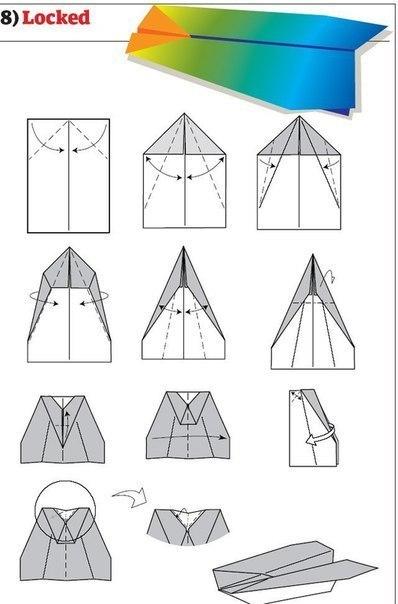 10 способов изготовления сверхбыстрых самолётиков7