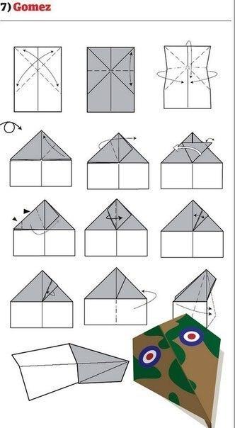 10 способов изготовления сверхбыстрых самолётиков6