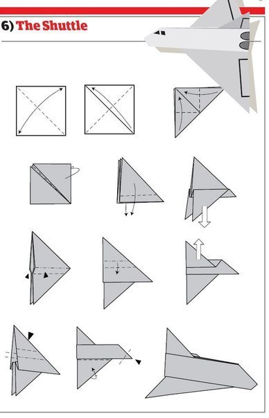 10 способов изготовления сверхбыстрых самолётиков5
