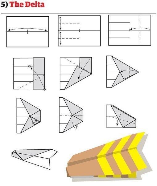 10 способов изготовления сверхбыстрых самолётиков4