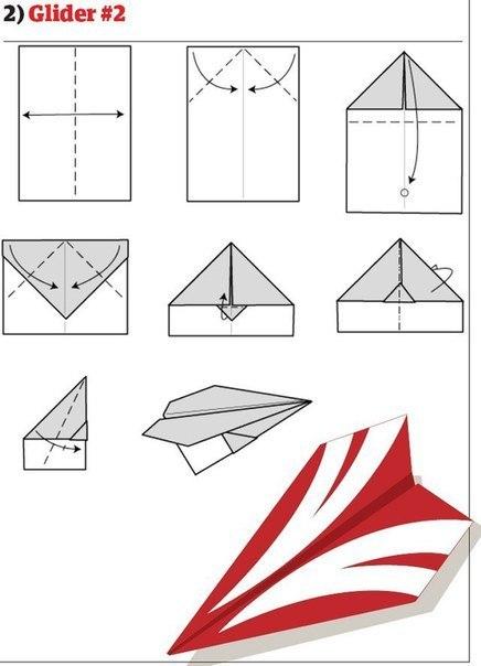 10 способов изготовления сверхбыстрых самолётиков2