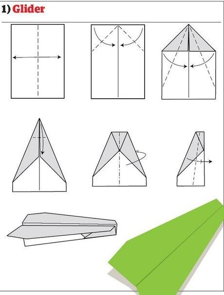 10 способов изготовления сверхбыстрых самолётиков