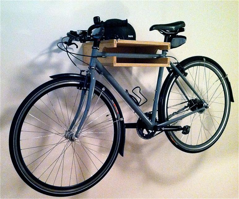 Полка для велосипеда и мелочей
