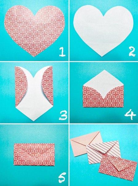 Как легко и быстро сделать конвертик
