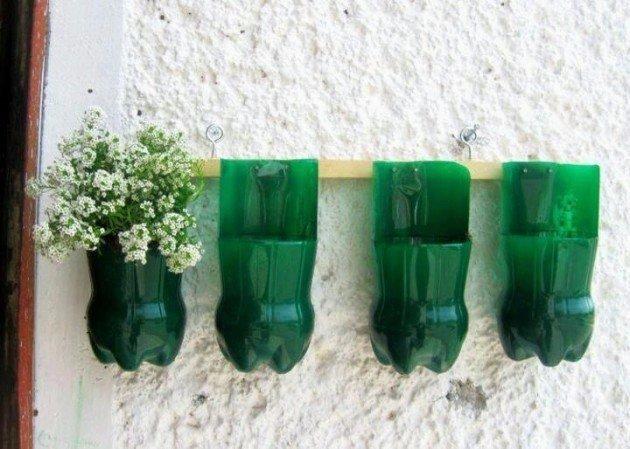 Практичные и полезные вещи из пластиковых бутылок