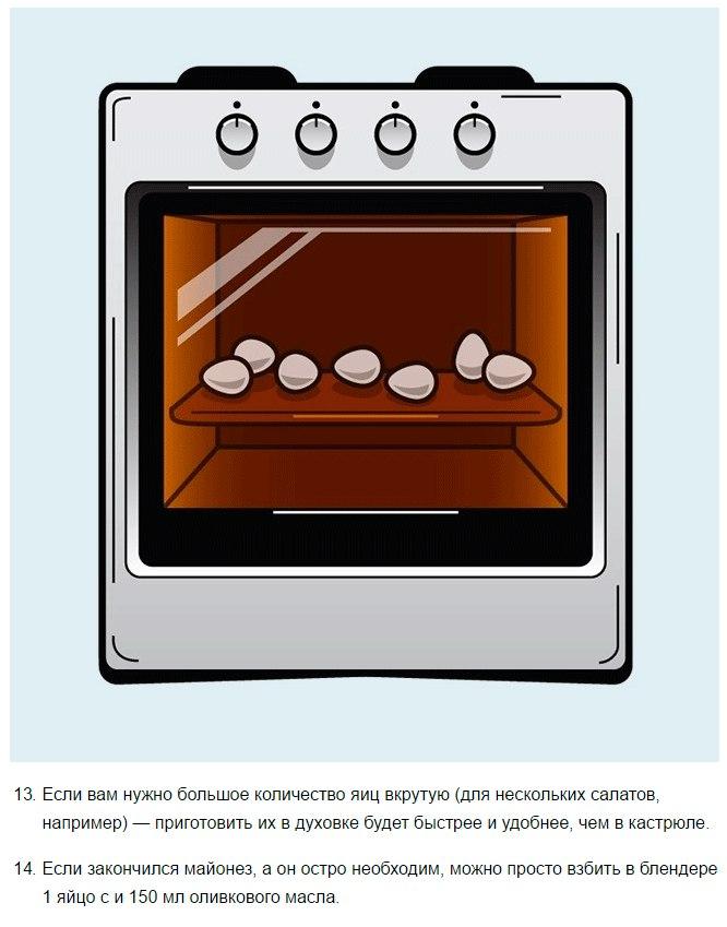 14 лайфхаков о том, как готовить вкусно, быстро и удобно7