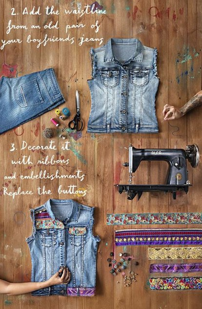 Делаем крутую джинсовку своими руками3