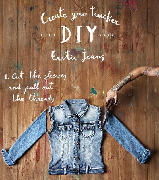 Делаем крутую джинсовку своими руками2