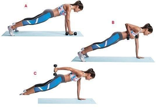 Планка – упражнение для пресса, ягодиц и рук