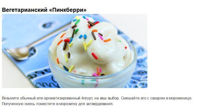 Очень простые рецепты сладостей