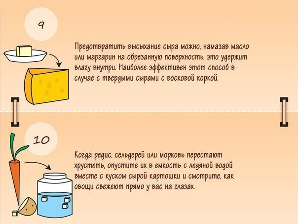 Подсказки, которые пригодятся вам на кухне5